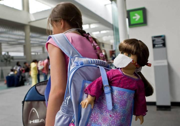 រូបនៅ international airport of Mexico city